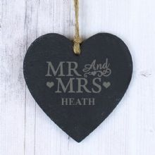 Mr & Mrs Slate Heart
